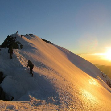 Gannett Peak: Like Rainier, But Different