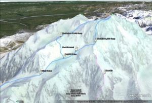 Denali traverse plan