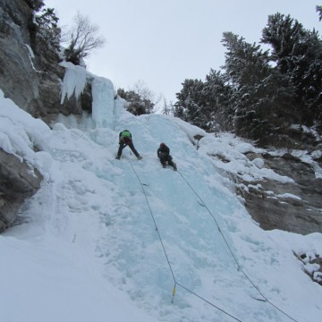 Work Smart, Not Hard: The A-Frame for Ice Climbing