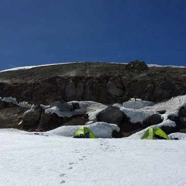 Mt. Rainier Summit Camping