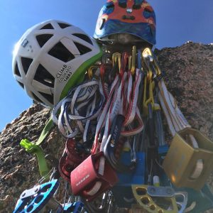 A look at some of the gear the TSC used on their summit attempt.