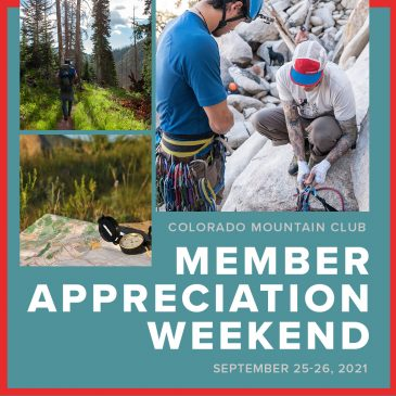Tickets Available for Member Appreciation Weekend – September 25-26, 2021
