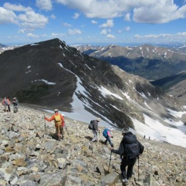 Colorado Mountain Club's Ascending Hikes Series
